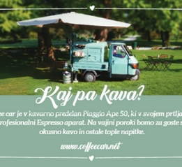 COFFEE CAR - KAJ PA KAVA?
